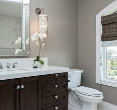 Gray Bathroom - my bathroom colors for the walls trim and cabinet grey walls