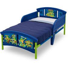 Toddler Bed With Rail Nickelodeon Teenage Mutant Ninja Turtles Plastic Toddler Bed