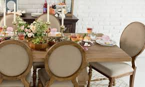 Cottage Dining Room Sets How To Get English Cottage Style At Home Overstock Com