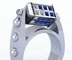 doctor who wedding ring doctor who tardis engagement ring
