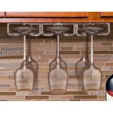Wine Glass Holder Under Cabinet Hanging Under Cabinet Glass Holder Glass Holders Wine And Wine Rack