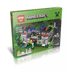 downtheblocks lepin 18005 minecraft the fortress preview