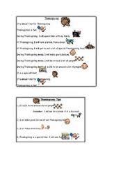 thanksgiving social skills checklist speech therapy