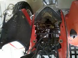 motion pro twist throttle kit installation on a 2005 honda trx 400