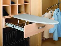 Ironing Board Storage Solutions Closetadvisercom - Ironing table designs