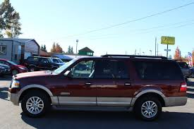 ford expedition el used 2007 ford expedition el eddie bauer 8 passenger dvd