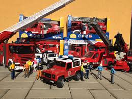 jeep fire truck bruder toys fire engine feuerwehr hasiči youtube