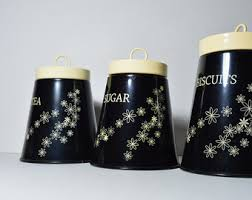 black canisters for kitchen skull storage canisters tea coffee canister sugar jars