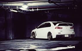 mitsubishi sports car white white mitsubishi lancer wallpapers reuun com