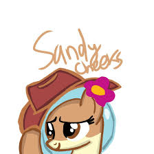 sandy cheeks as a pony 2 by waybacinthe90s on deviantart