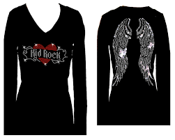 angel wings halloween kid rock angel wings rhinestone v neck long sleeve womens bling