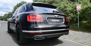 bentley sport 2016 startech sport exhaust for bentley bentayga startech refinement