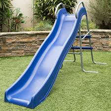 Best Backyard Water Slides Outward Play Slippery Backyard Wave Slide With Two Step Ladder
