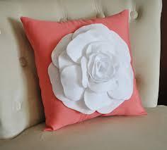 White Bedroom Throw Pillows Coral Throw Pillows Bedroom Pretty Coral Throw Pillows For