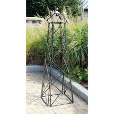 Arbors And Trellises Amazon Com Lattice Obelisk Trellises Patio Lawn U0026 Garden