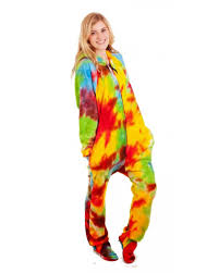 tie dye deluxe footed onesies footed pajamas one oiece