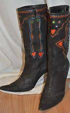 lucchese s boots size 9 1 by lucchese i4912 s brush calf brown boots