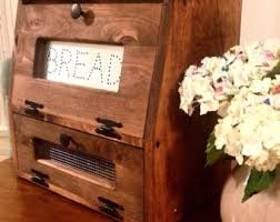 387 Best Rustic Or Primitive Bread Box Etsy