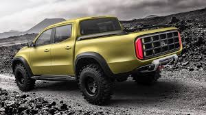 lifted mercedes van mercedes benz concept x class the awesomer