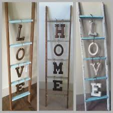 Craft Ideas Home Decor Best 25 Wooden Ladder Decor Ideas On Pinterest Wooden Ladders