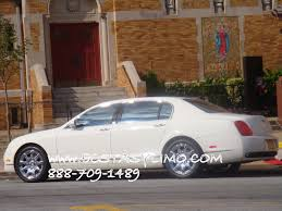 customized bentley white bentley flying spur for weddings in nyc bentley for rent in