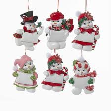 army snowman personalized ornament country marketplace