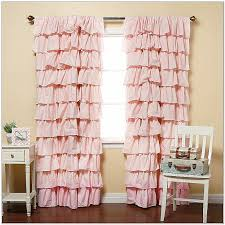 Pale Pink Curtains Decor Shower Curtains Pink Ruffle Shower Curtain Luxury Curtain