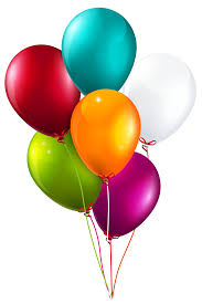 bunch of balloons colorful balloons bunch large png clipart image gallery