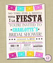 Couple S Shower Invitations Fiesta Bridal Shower Invitation Printable Wedding Shower Invite