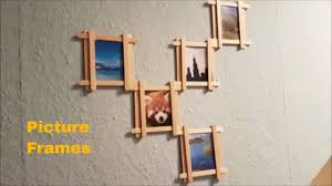 Home Decor Photo Frames Diy Picture Frames For Home Decor Wall Decor Ideas