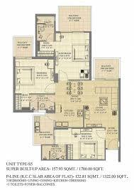 floor plan of gaur sports wood sector 79 noida gaursons india