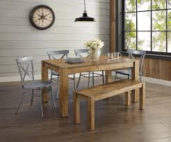 astonishing better homes and gardens bryant dining table rustic