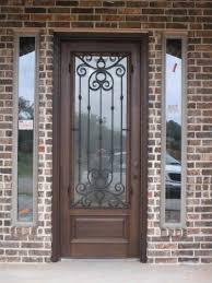 front door design with trellis decor 4 home ideas