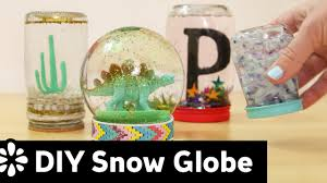 diy snow globe sea lemon youtube