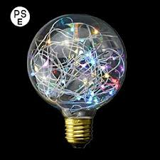 Decorative Light Bulbs XinRong New Edison LED Starry Sky Copper