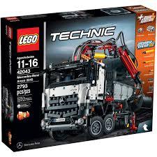 lego technic mercedes benz arocs 3245 42043 walmart com
