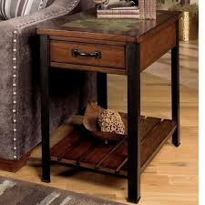 null furniture chairside table null furniture 3013 3013 05 end table with drawer and shelf dunk