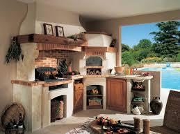 cuisine d ete barbecue design exterieur barbecue naturelle desin classique crédence