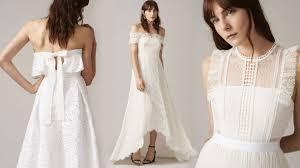 Wedding Dress High Street Whistles Wedding The Brand New High Street Bridal Collection