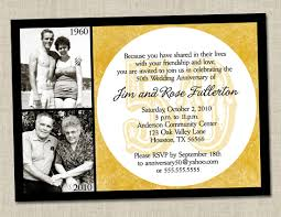 Wedding Poems For Invitation Cards 50th Anniversary Candy Buffet Funny 50th Anniversary Invitations