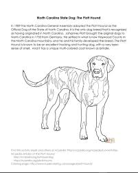 ncpedia north carolina state dog activity page http ncpedia org