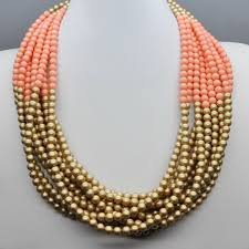multi layered bead necklace images 2014 latest design bead necklace princess beaded necklace multi jpg