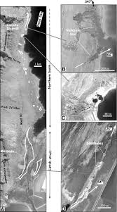 New York Sinkhole Map by Sinkhole U201cswarms U201d Along The Dead Sea Coast Reflection Of