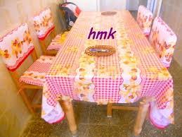 couture accessoire cuisine ensemble cuisine housse pour chaise et nappe le d hmk
