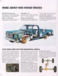 Vintage Ford Truck Brochures - car brochures 1974 chevrolet and gmc truck brochures 1974