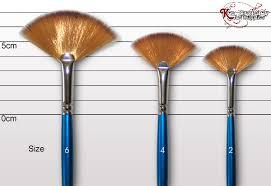 fan brush oil painting cotman fan brush 888 ken bromley art supplies