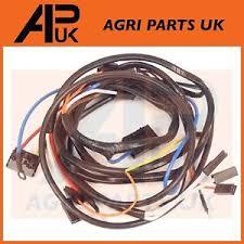massey ferguson 135 tractor wiring harness loom alternator type