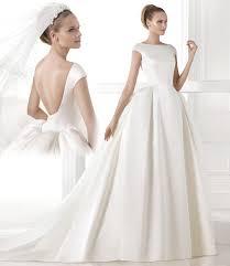 robe de mari e satin recommandation robes de mariée satin simple robe de mariée