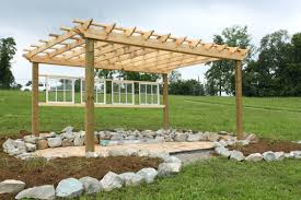 cost to build pergola over deck on existing curved roof pergol
