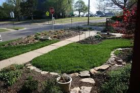 landscape border ideas cheap home design ideas